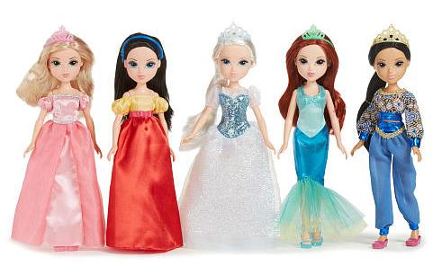 Storytime Princess Collection™ - 5 Pack Doll Set