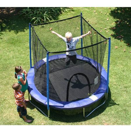 Walmart Airzone 8' Trampoline Combo, Blue