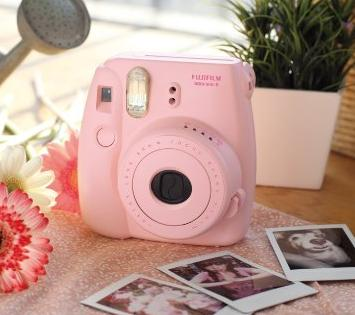 Fujifilm Instax Mini 8 Instant Film Camera with Self-Shot Mirror