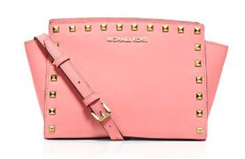MICHAEL Michael Kors Selma Stud Medium Messenger Crossbody