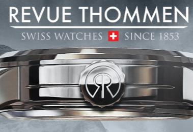 Up to 84% OffRevue Thommen Swiss watches Sale @ Gemnation