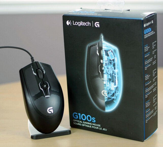 $11.99 Logitech G100s Ambidextrous Optical Gaming Mouse New other