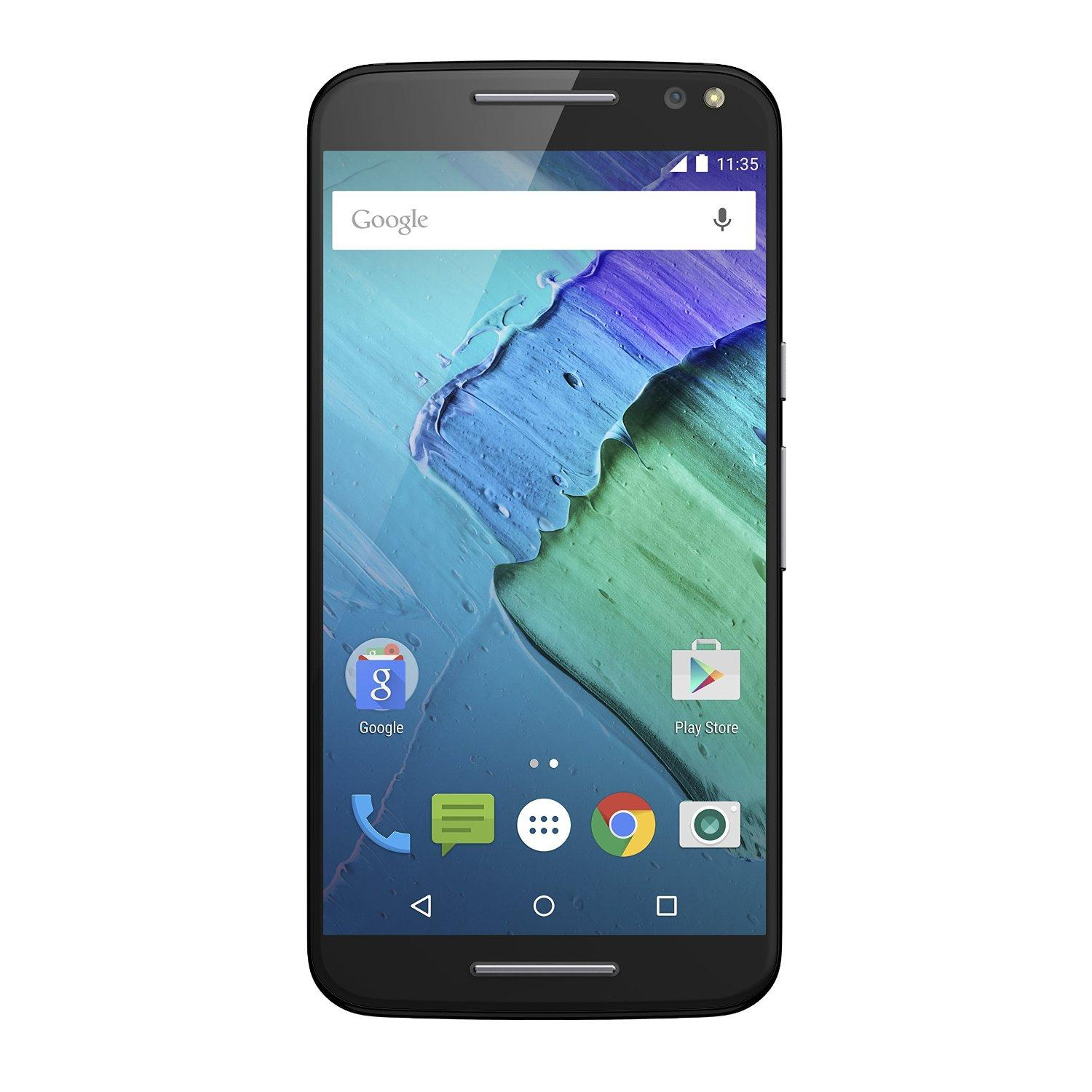 Moto X Pure Edition Unlocked Smartphone, 32GB Black (U.S. Warranty - XT1575)