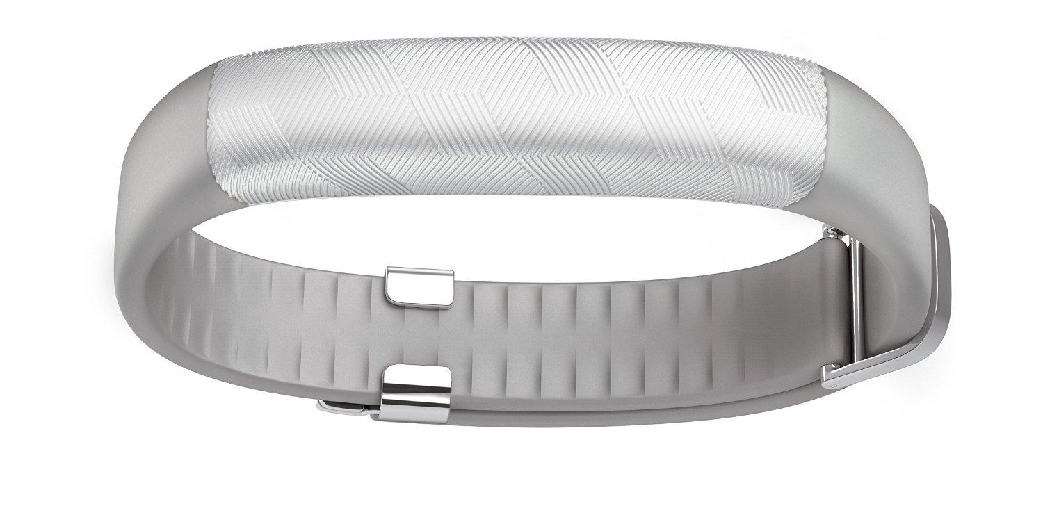 Jawbone UP2 Activity + Sleep Tracker, Light Grey Hex (Silver)