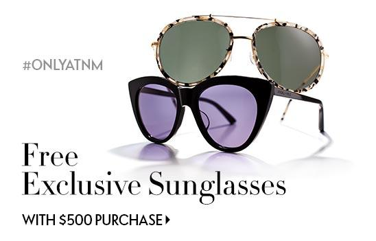 Receive Kendall + Kylie Sunglasses with your $500+ regular-price purchase in Women's Ready-to-Wear or Accessories @ Neiman Marcus