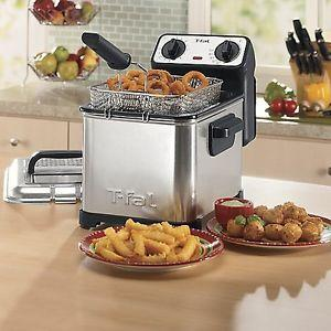 T-fal Family Pro 3-Liter Deep Fryer with Stainless Steel