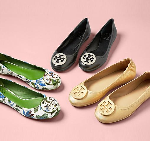 From $98 Tory Burch Shoes On Sale @ MYHABIT