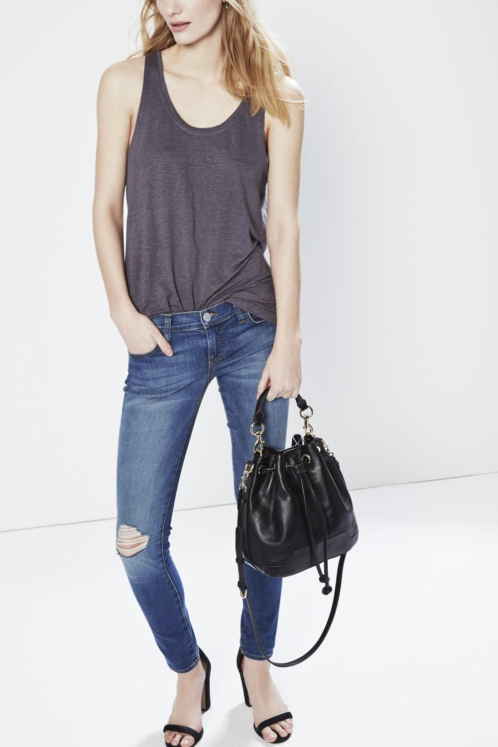 Rebecca Minkoff Unlined Bucket Shoulder Bag