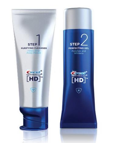 Crest Pro-Health HD Daily Two-Step Toothpaste System Tubes