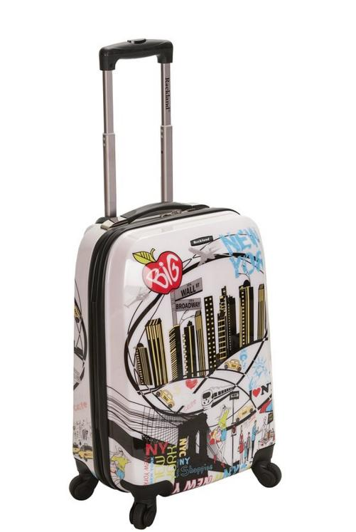 Rockland Luggage 20 Inch Polycarbonate Carry On