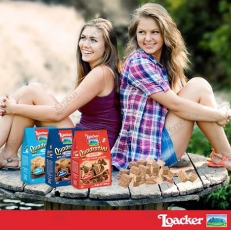 10% Off LOACKER Wafer Cookies, Multiple Flavors