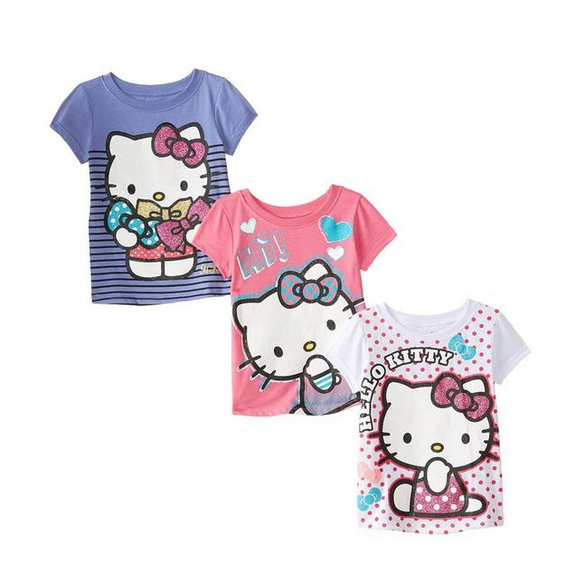 Hello Kitty Girls' 3-Pack Tees