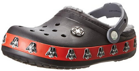 Crocs Boys' CB Darth Vader Lined Clog