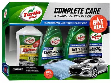 $10.99 Turtle Wax 5-Piece Complete Care Kit