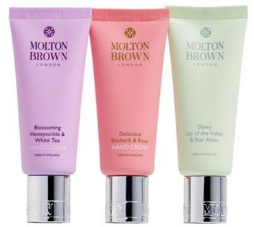 34.2 MOLTON BROWN London 'Timeless Florals' Hand Cream Trio (Limited Edition) ($45 Value)