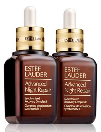 Free 33-pc Gift Estee Lauder Limited Edition Advanced Night Repair Synchronized Recovery Complex II Duo, 2 x 1.7 oz. ($184 Value)