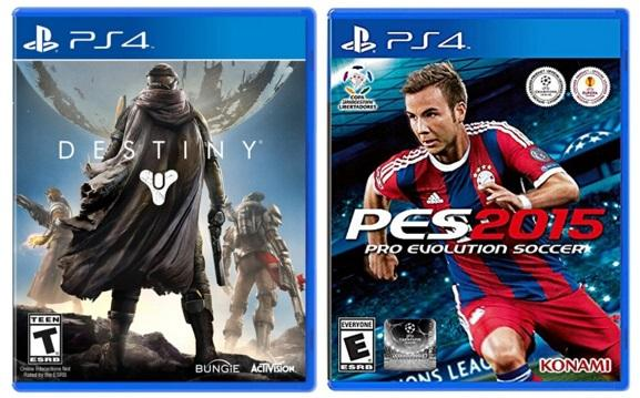 Free! Destiny + Pro Evolution Soccer 2015 PlayStation 4