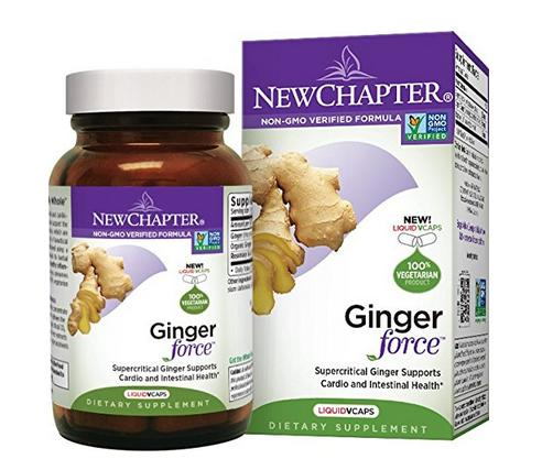 New Chapter Ginger Force, 60 Count