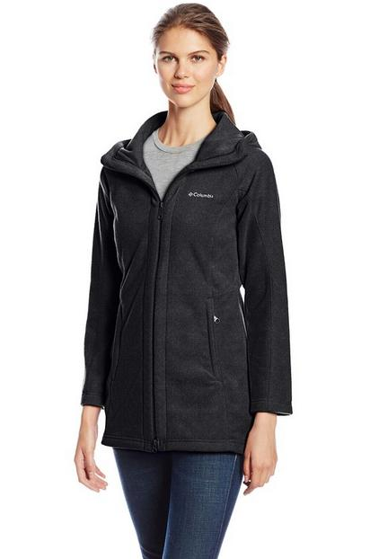 From $20.05 Columbia Women's Benton Springs II Long Hooded Jacket