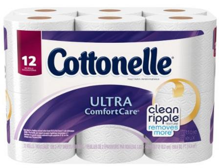 Cottonelle Ultra Comfort Care Big Roll Toilet Paper, 12 Count