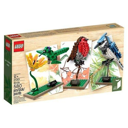 $33.47 LEGO Ideas 21301 Birds Model Kit