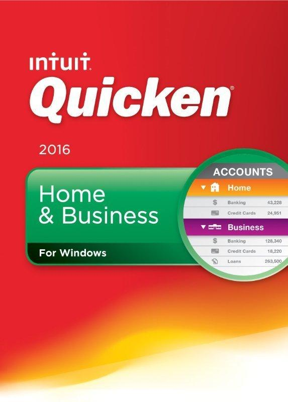 Quicken Home & Business 2016 (PC Digital Download)