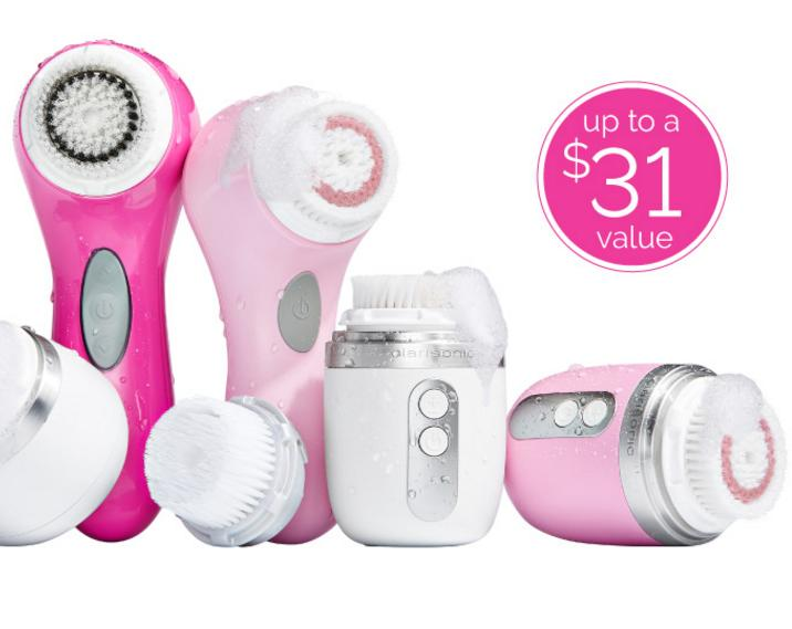 FREE BRUSH HEAD (up to a $31 value)When You Buy Any Device or Device Value Set @ Clarisonic