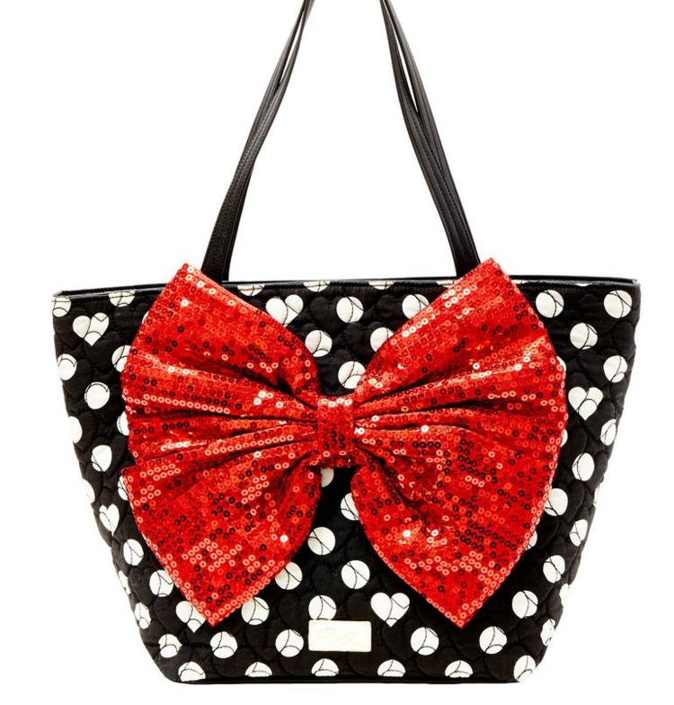 LUV BETSEY by Betsey Johnson with Bow Tote Bag