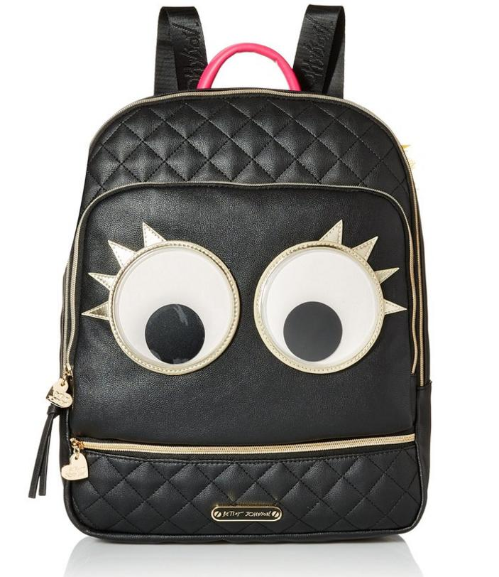 Betsey Johnson Googly Moogly Fashion Backpack