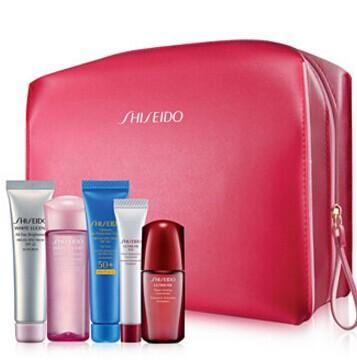 Free 6-Pc Gift with purchase 2 or more qualifying Shisedo skincare items @ macys.com