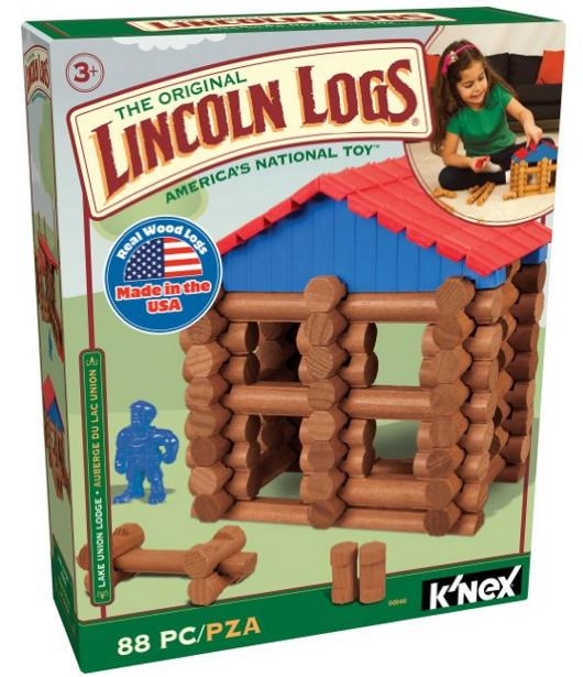 Lincoln Logs Lake Union Lodge Toy @ Amazon