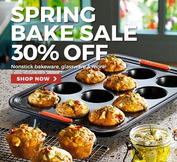 30% Off + Free Gift with $150 Purchase Spring Bake Sale @ Le Creuset
