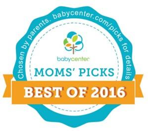 Hot! 2016 BabyCenter Moms' Picks Awards