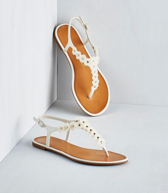 Up to 80% Off Women's White Summer Shoes @ 6PM.com