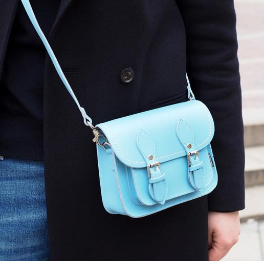 35% Off Zatchels Baby Blue Bag Sale @ unineed.com
