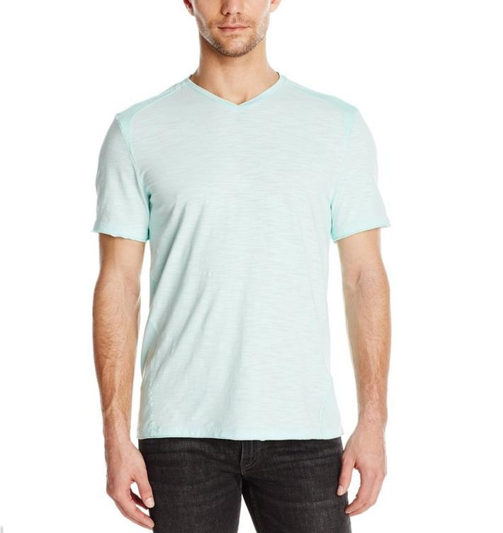 Calvin Klein Jeans Men's Acid Washed V Neck@ Amazon