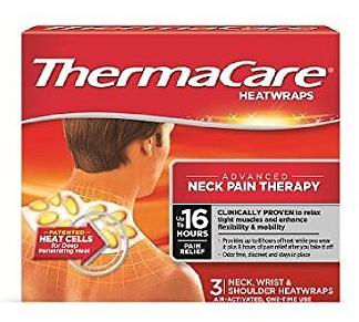 $16.39 ThermaCare Air-Activated Heatwraps, Neck, Wrist & Shoulder, 3 HeatWraps (Pack of 3)