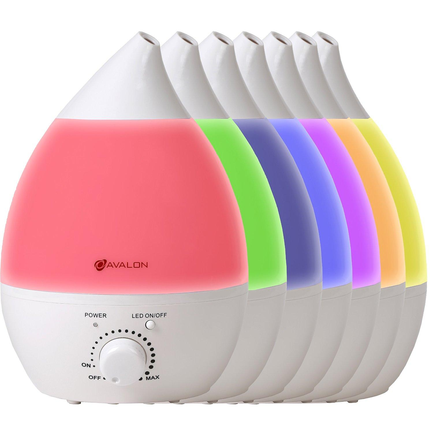 Avalon Premium Ultrasonic Cool Mist Humidifier with Filter, Aroma Oil Diffuser