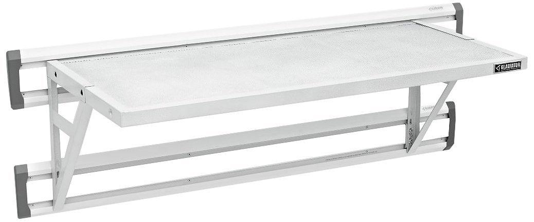 Gladiator GAWA45SFZW 45-Inch GearLoft Shelf, White
