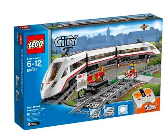 $102.99 LEGO City Trains High-speed Passenger Train 60051 Building Toy