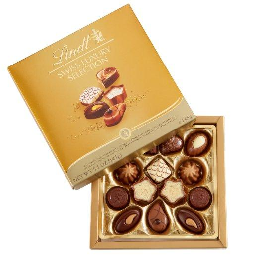 Lindt Chocolate Swiss Luxury Collection,