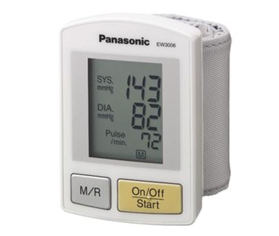 Panasonic Wrist Monitor with Hypertension Alert