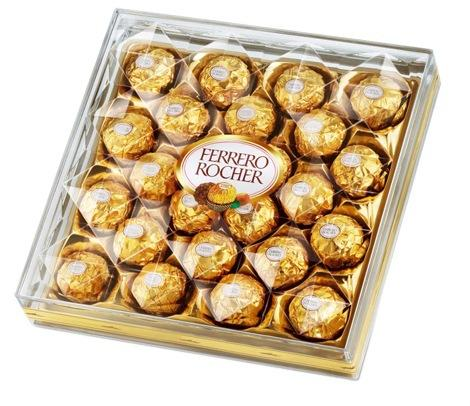 Ferrero Rocher, Flat 24 Count