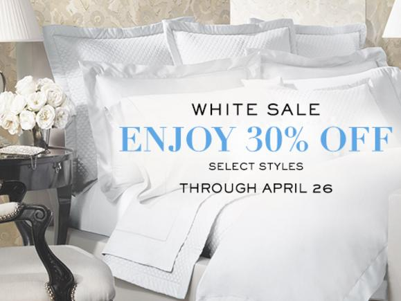 30% Off Select Bedding @ Ralph Lauren
