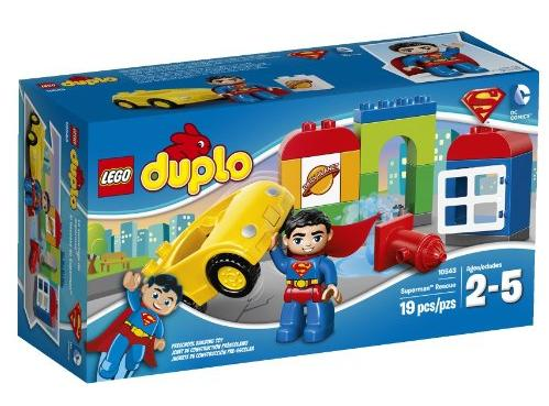LEGO DUPLO Super Heroes Superman Rescue Building Set 10543 @ Amazon