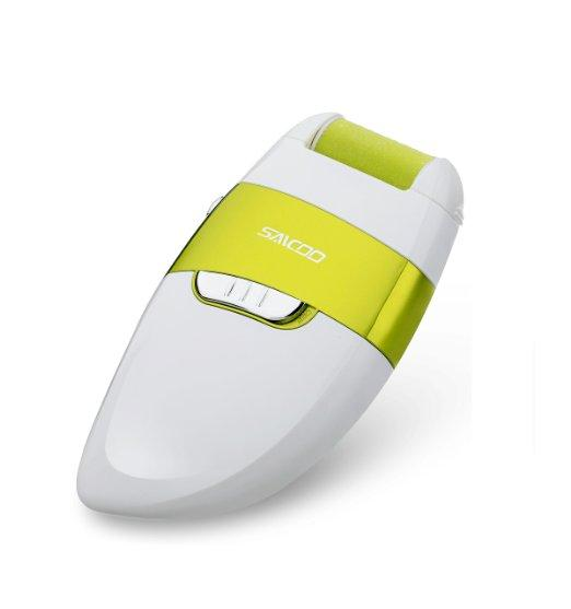 Saicoo  Electric Callus Remover Pedicure with Two Diamond Crystals Grinding Heads(rough&smooth)