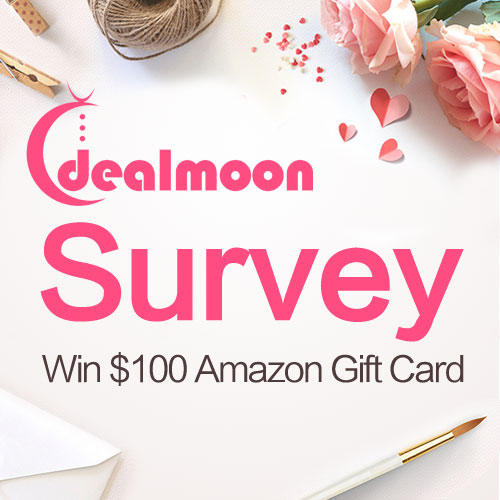 Win $100 Amazon Gift Card Dealmoon User Survey