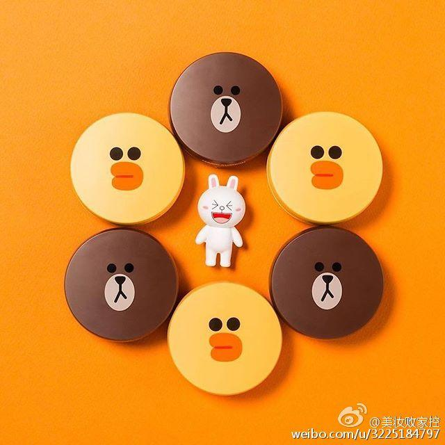 From $19.99 Missha X Line Friends Brown Collaboration Cushion