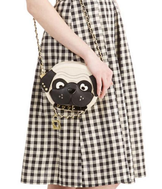 $47.99 Betsey Johnson Pug Crossbody Bag @ Amazon