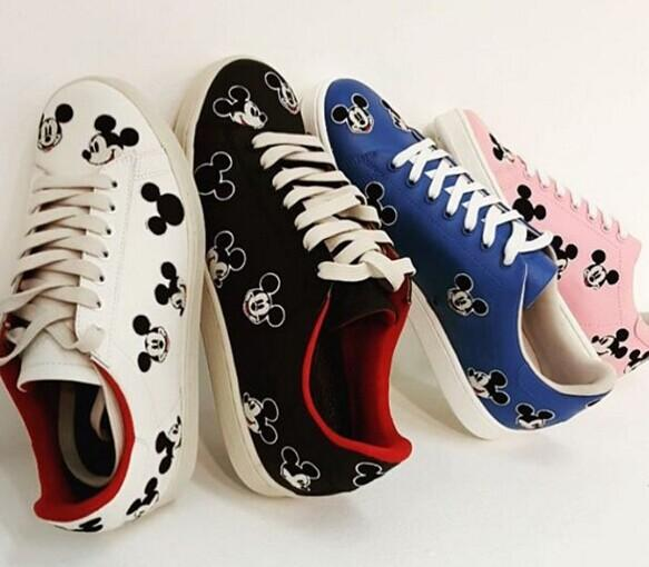 10% Off MOA MASTER OF ARTS  Mickey Mouse sneakers @ Farfetch